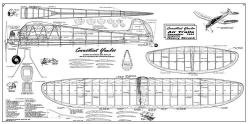 Connecticut Yankee model airplane plan