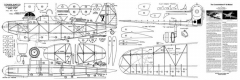Consolidated P30 model airplane plan