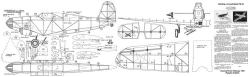 Consolidated PB2A model airplane plan