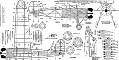 Consolidated Fleetster 25in model airplane plan