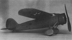 Consolidated XBY-1 model airplane plan