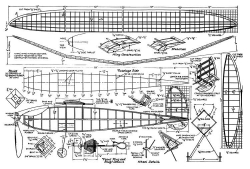 ContestFlyer model airplane plan