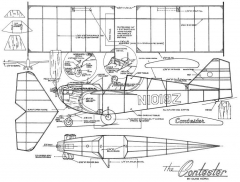 Contester-FAC model airplane plan
