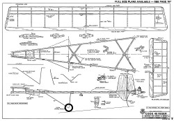 Cook 45 Riser model airplane plan