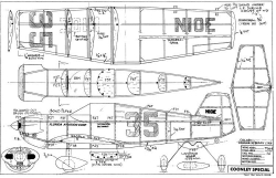 Coonley Special-FAC model airplane plan