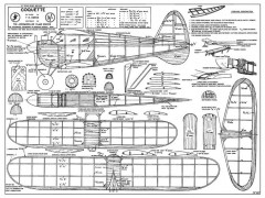 Coquette cleaned 2 model airplane plan