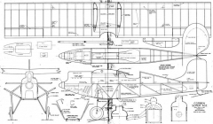 Corben Super Ace 2 model airplane plan