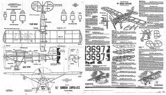 Corben Super-Ace 16in model airplane plan