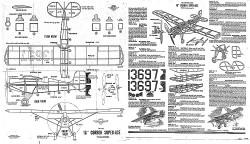 Corben Super-Ace 16in model airplane plan