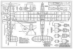 Corben Super Ace 13in model airplane plan