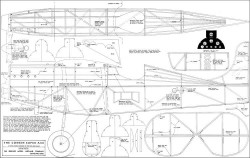Corben Super Ace 54in model airplane plan