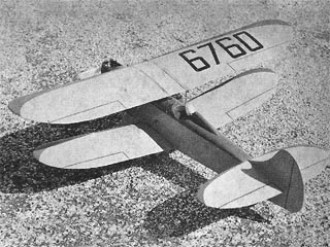 Corky model airplane plan