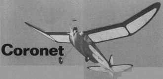 Coronet model airplane plan