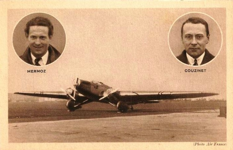 "Couzinet 70 ""Arc-en-ciel III - 1932 model airplane plan"