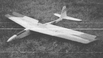 Cracker model airplane plan