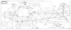 Crackerjack model airplane plan