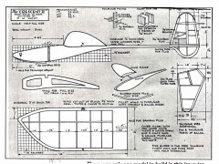 Crescent II model airplane plan