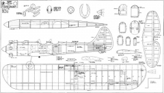 Crossbreed model airplane plan