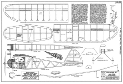 Crusader42 model airplane plan