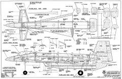 Crusader II-RCM-11-88 1030 model airplane plan