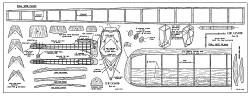 Cub Canard model airplane plan