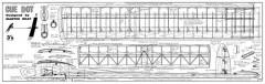 Cue Dot model airplane plan