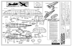 Culver V model airplane plan