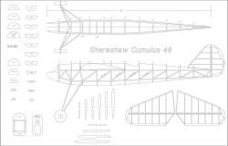 Cumulus 48in model airplane plan