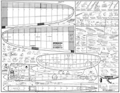 Cumulus Goldberg model airplane plan