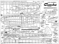 Cumulus MA 54in model airplane plan
