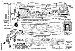 Cupcake model airplane plan