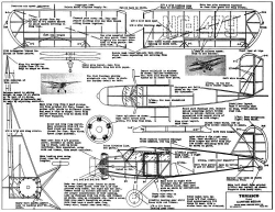 Curtis Sedan model airplane plan