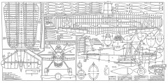 Curtis XP YP-23-Jack Lynn Bale model airplane plan