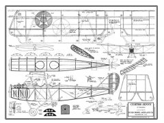 Curtiss Jenny model airplane plan