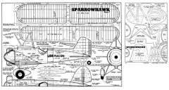 Curtiss Sparrowhawk model airplane plan