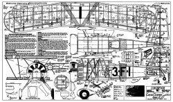 Curtiss XE7C-3 Seahawk model airplane plan