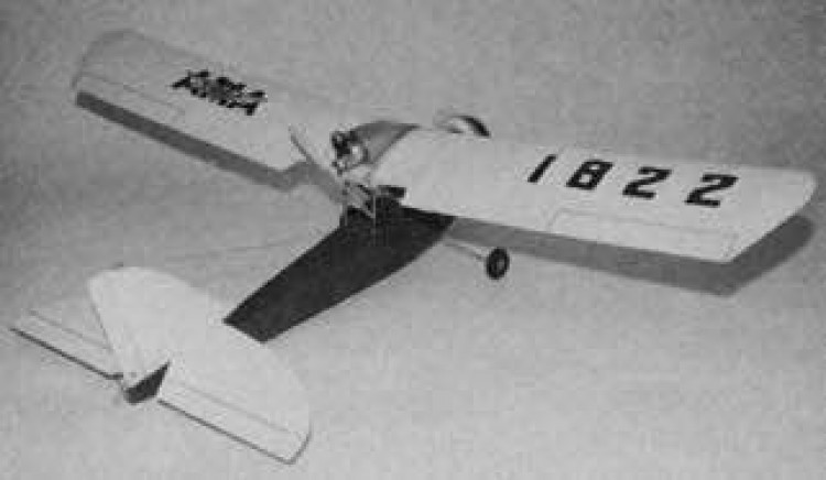 Curtiss-Wright Junior model airplane plan
