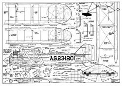 CurtissXPW8 model airplane plan