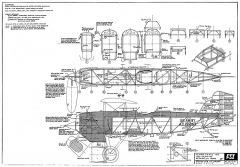 Curtiss A-3 O1-b Falcon FSI model airplane plan