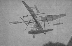 Curtiss Bleecker model airplane plan