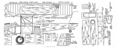 Curtiss Condor Bomber model airplane plan