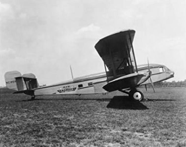 Curtiss Condor model airplane plan