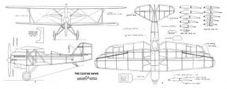 Curtiss Hawk model airplane plan