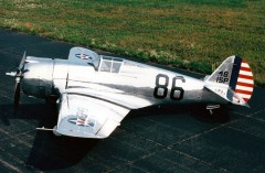 Curtiss Hawk P36-A model airplane plan