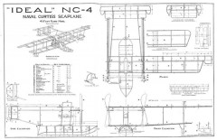 Curtiss NC-4 model airplane plan