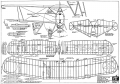 Curtiss O-39 Falcon FSI model airplane plan