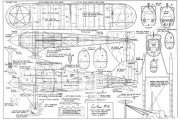Curtiss R6 model airplane plan