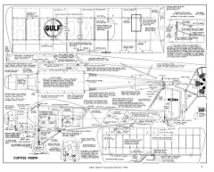 Curtiss Robin-Grid Leaks-03-04-1965 model airplane plan