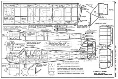 Curtiss Robin-MAN-09-61 model airplane plan