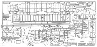 Curtiss SBC-3 Helldiver-Jack Lynn Bale model airplane plan